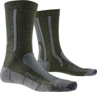 Носки X-SOCKS COMBAT SILVER, Olive Green/Anthracite