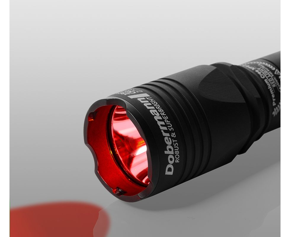 Фонарь Armytek Doberman XP-E2 Red